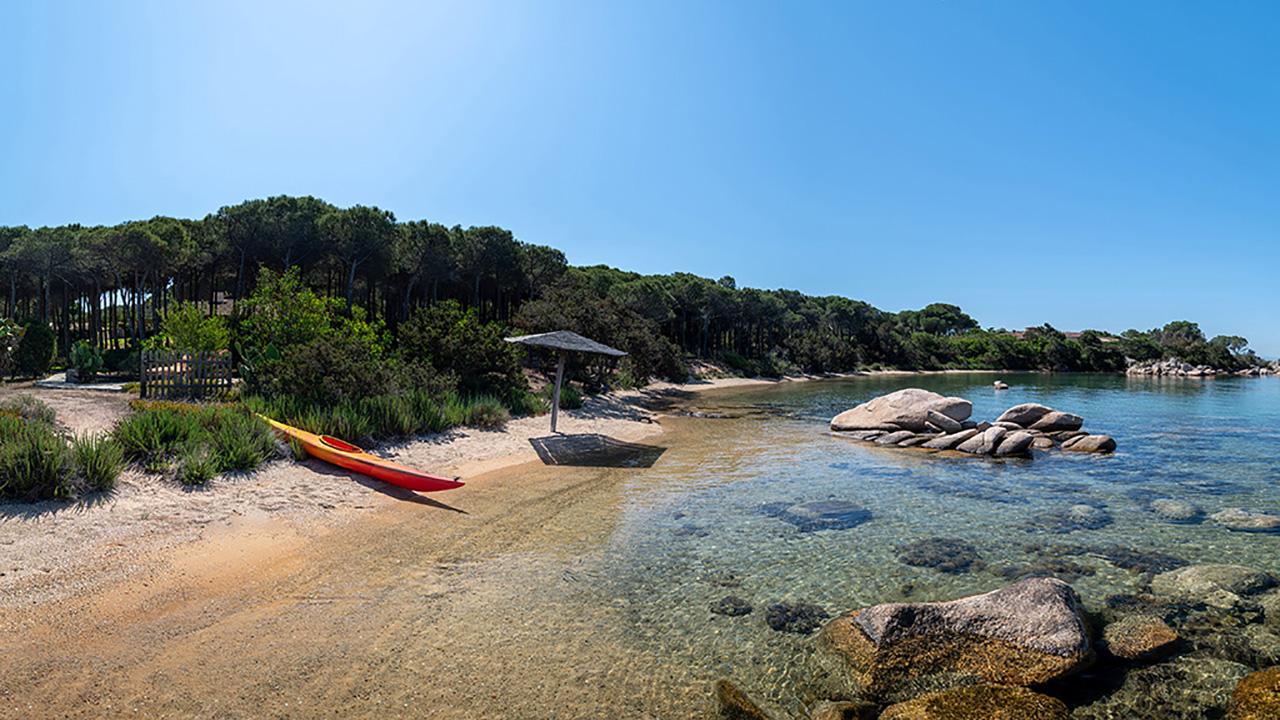 Waterfront Villa for rent in Cala di Volpe