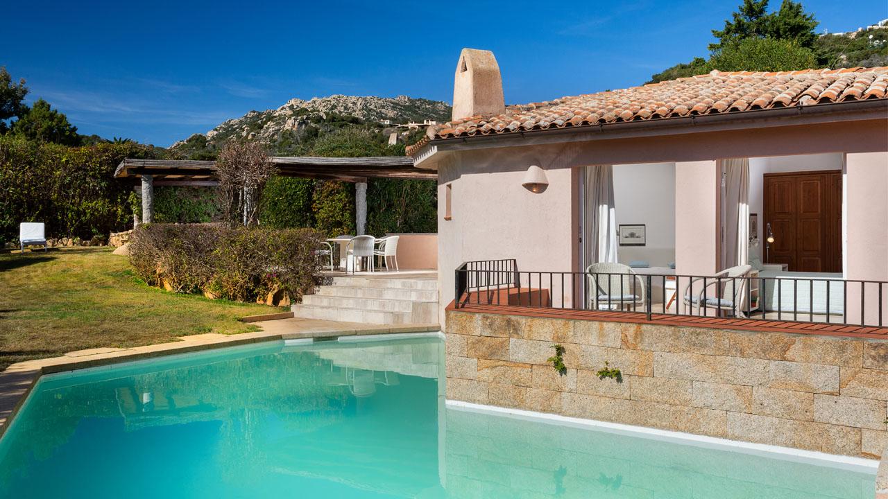 Villa for rent in Pevero Golf