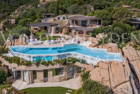 Villa Le Grotte Rent Costa Smeralda Sardinia (italy)