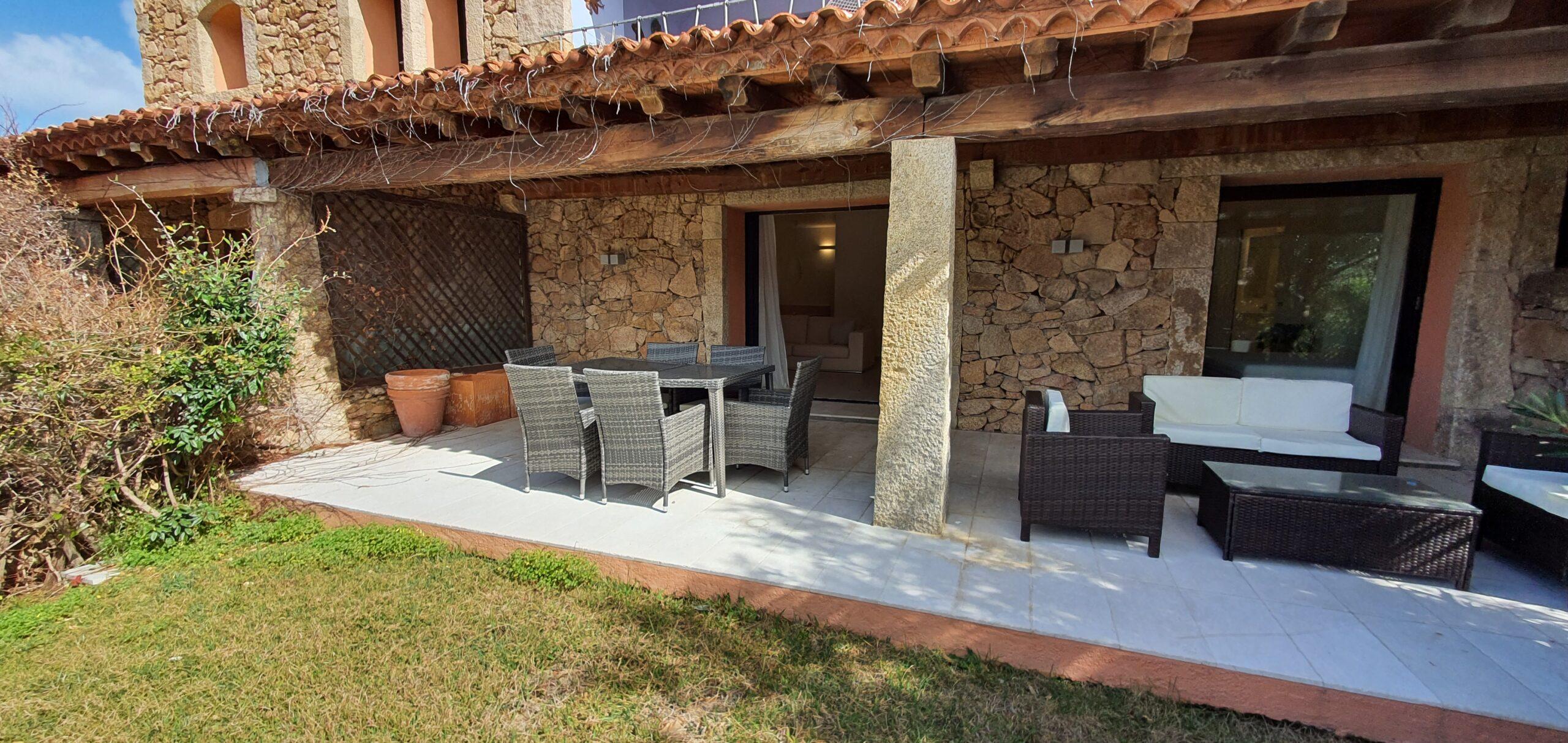 Three bedrooms apartment for rent in Porto Cervo