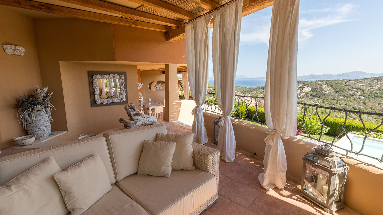Deluxe House Seaview on Cala di Volpe