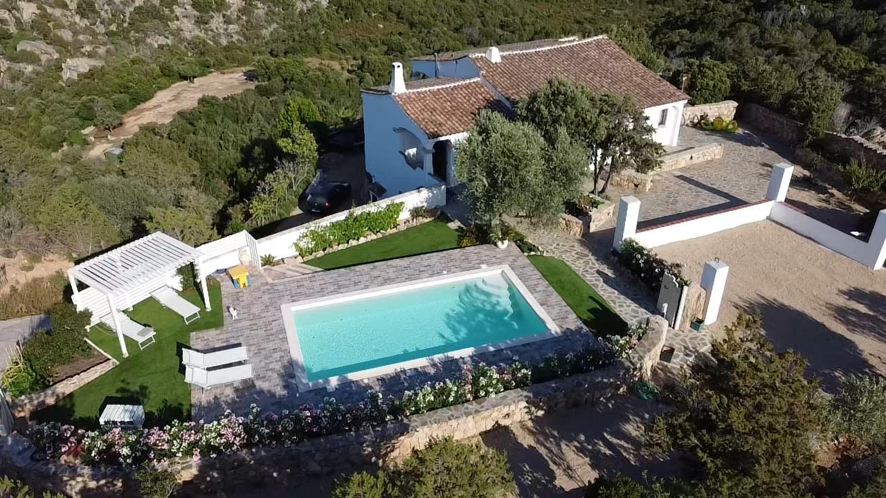 Villa di campagna in affitto in Sardegna