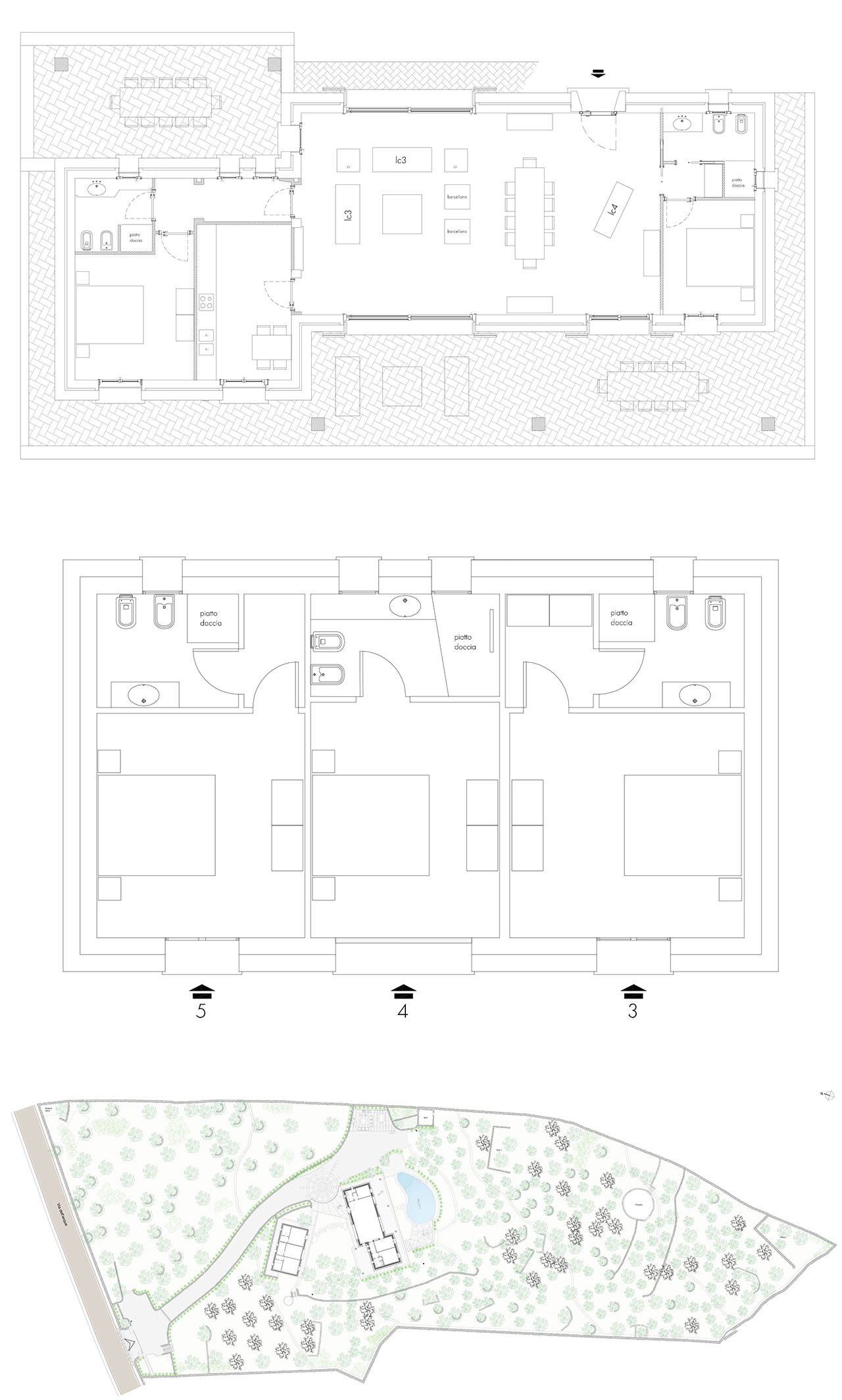 Main Villa, Dependance and Plot