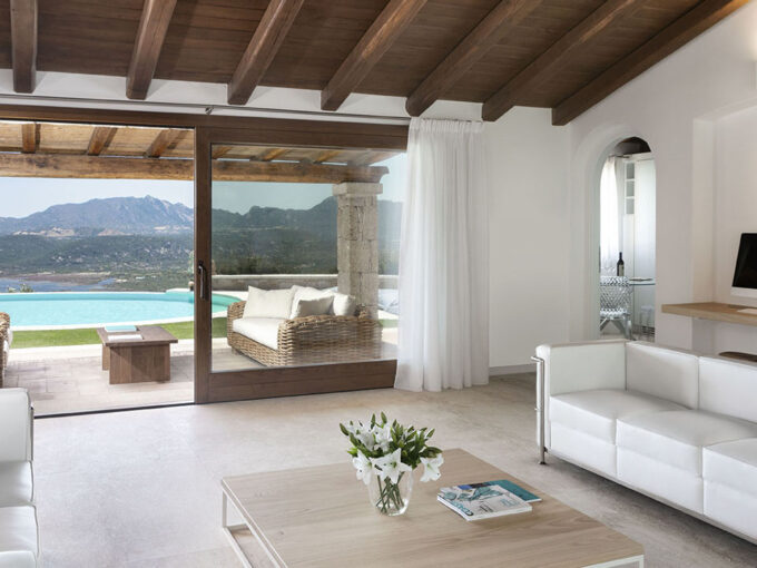 Seaview countryhouse for sale in Costa Smeralda.