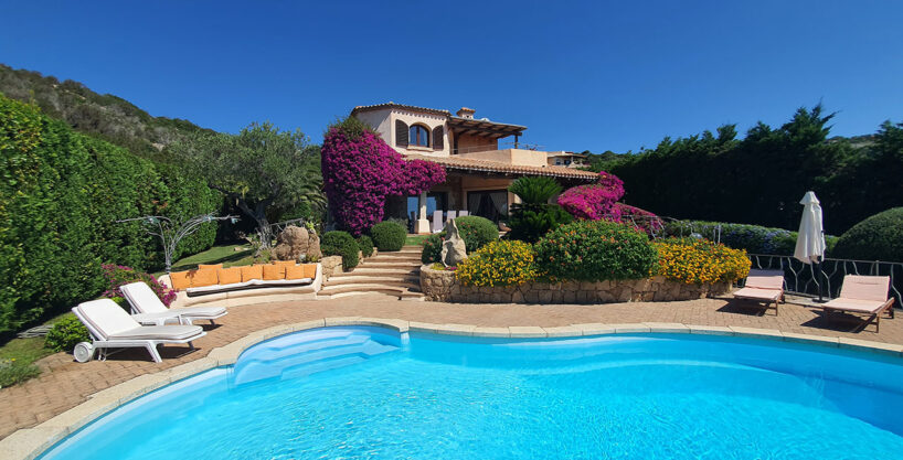 Villa Orchidea Sale And Rent Pevero Golf, Costa Smeralda Sardinia (italy)