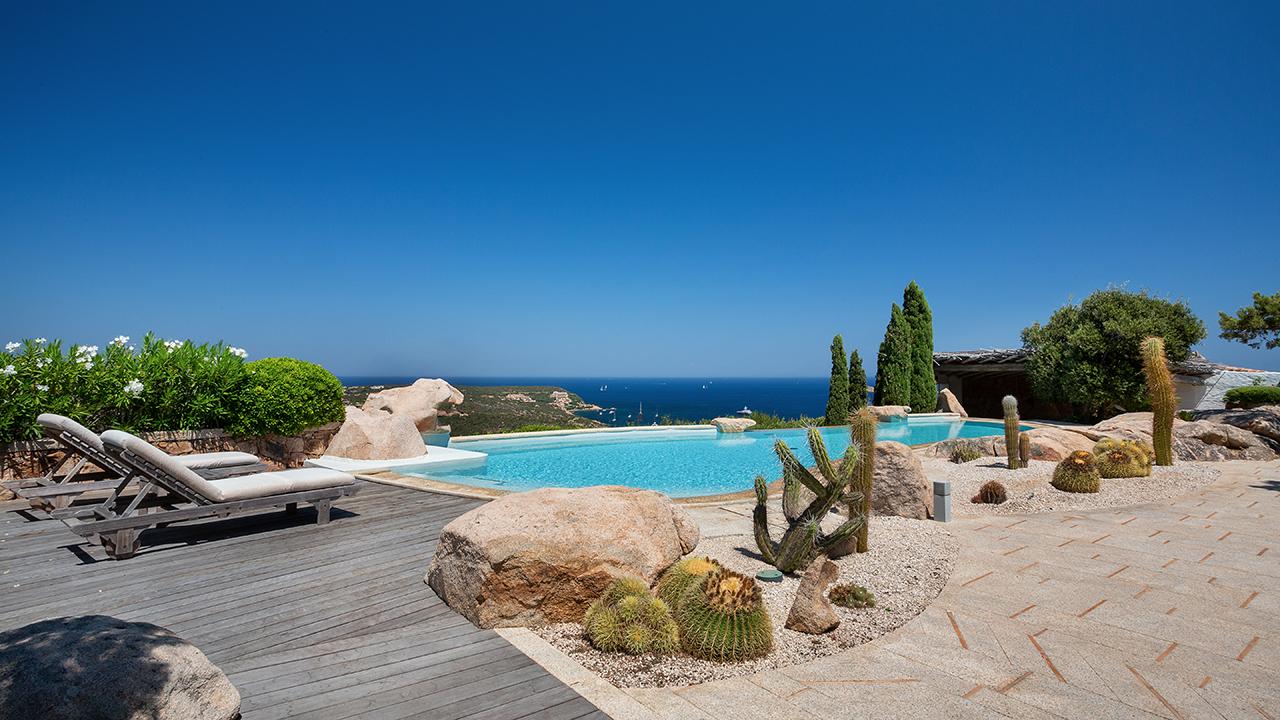 Villa Panorama for rent in Costa Smeralda