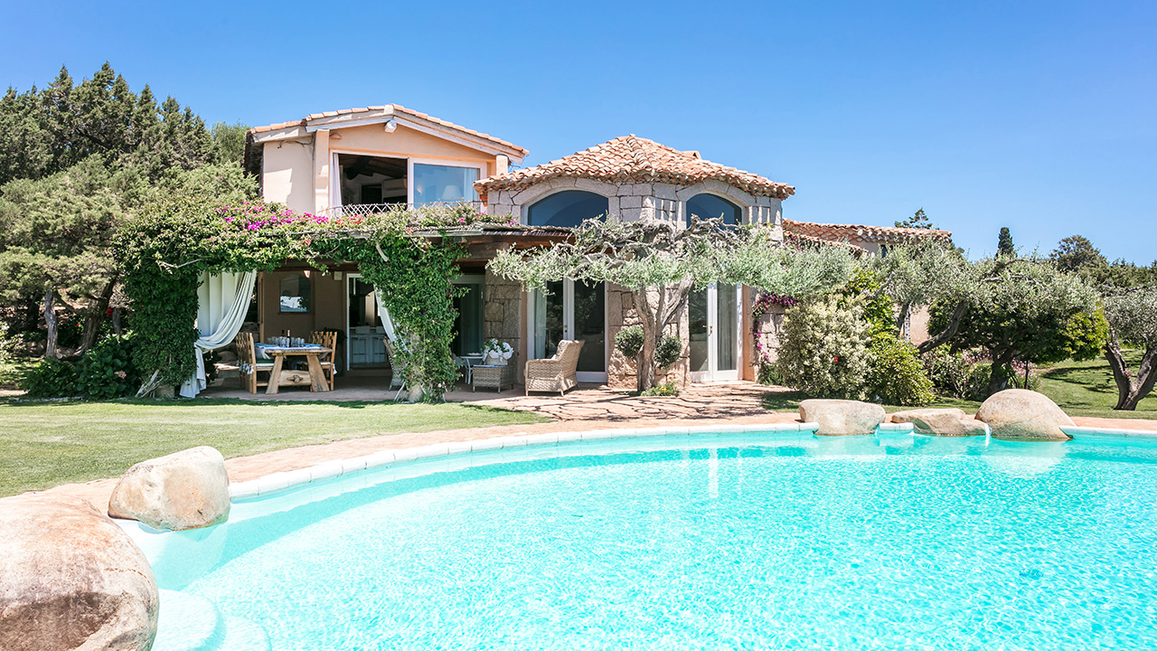 Villa Jatta for rent in Costa Smeralda
