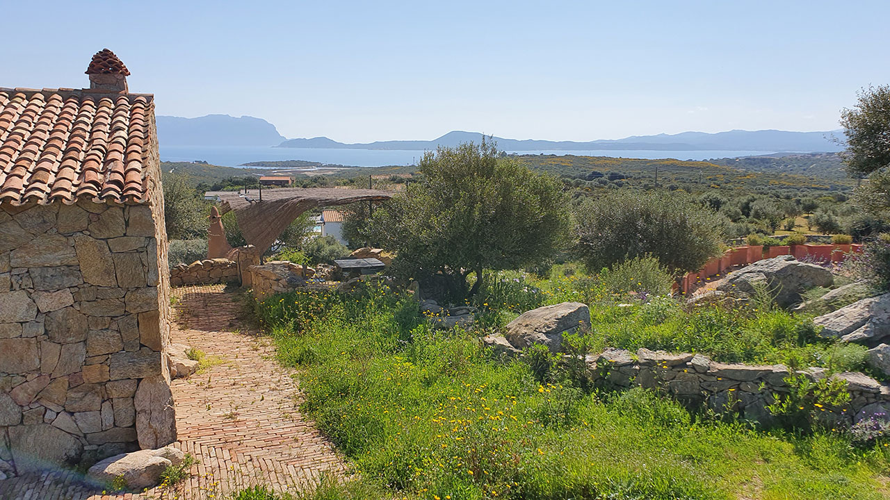 Seaview countryhouse for sale in Sardinia