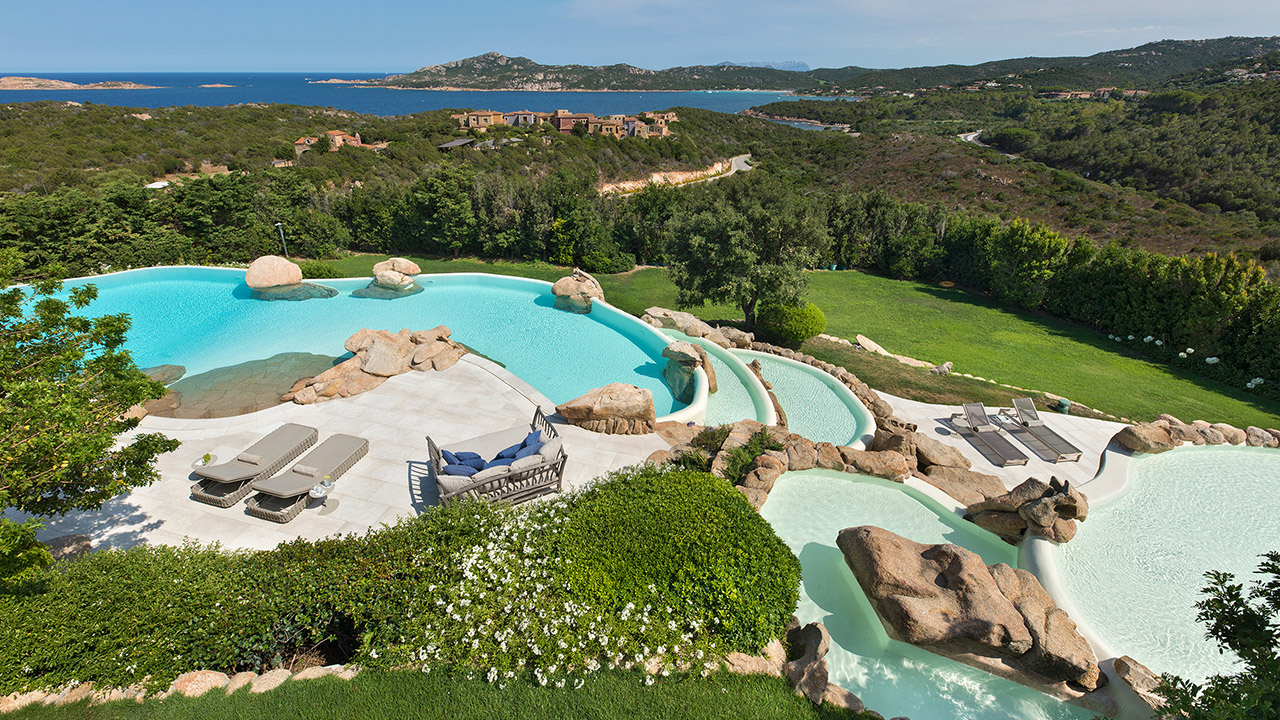 Luxury Villa for rent in Porto Cervo