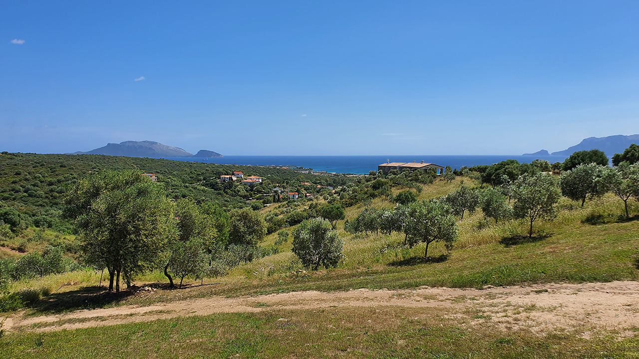 Seaview countryhouse for rent in Sardinia